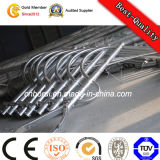 Poste de luz de la calle de acero galvanizado por el cliente requiere