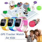 "0.96 "" Sos Y7s를 가진 인치 다채로운 스크린 GPS 추적자 시계"