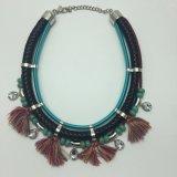 Open Lange Halsband met Juwelen van de Manier van de Leeswijzer van het Metaal de In het groot Kleinhandels