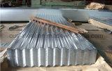 SGCC Sgch premier de la qualité en acier ondulé galvanisé tôle de toit