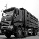 De Vrachtwagen van de Stortplaats van het Merk HOWO van China 8X4