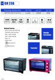 Appareil ménager de traitement d'acier inoxydable de four électrique avec 23 litres (GH23)