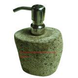 자갈 바위 샴푸 병 /Stone 샴푸 상자 또는 자갈 바위 비누 분배기 또는 강 바위 돌 비누 분배기