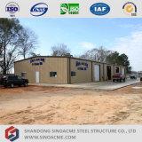 Sinoacmeは軽い鉄骨フレームの小屋を組立て式に作った