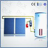Tipo económico calentador de agua solar a presión fractura de la pantalla plana