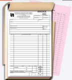 Note de réception de facture personnalisé Livre d'impression (AA-CB011)