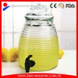 стеклянный распределитель напитка сока питья 10L с стойкой и Spigot