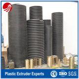 Großer Durchmesser-gewölbte Entwässerung-Rohr-Strangpresßling-Maschinen-Plastikzeile