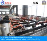 Linea di produzione della scheda della gomma piuma del PVC della coestrusione di tre strati/macchina dell'espulsore