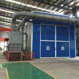 Equipamento das cabines do sopro de areia com sistema da recuperação do vácuo