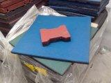 Bouw het Gerecycleerde Rubber Vloeren van Korrels