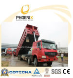 Camion à benne basculante utilisé de HOWO (8X4) 371HP de la capacité 40tons pour l'Afrique