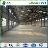 La lámina de acero de color de la estructura de acero de almacén de fábrica de 27 años