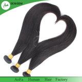 Cabelo que tece a tecelagem humana do cabelo de Remy do Virgin peruano
