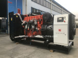 50Hz 450kVA 상표 Yuchai 중국 엔진에 의해 강화되는 디젤 엔진 발전기 세트