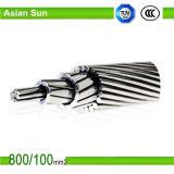 La norma ASTM 215 conductores de aluminio reforzado de acero de sobrecarga ACSR conductor desnudo