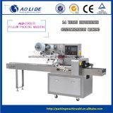 Machine à emballer horizontale de palier de membrane de double de flux de modèle neuf/prix de machine à emballer de pain