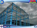 Edificio prefabricado de la estructura de acero para el taller (FLM-031)