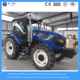 135HP 4WD 오두막 농장 사용 트랙터 Deutz 농업 경작하거나 엔진 또는 Cool&Warm 조절기