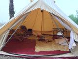 Для использования вне помещений огнеупорные Canvas Bell палатка 5m Teepee палатка