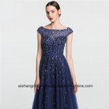 Les femmes à Perles paillettes Tulle une ligne robe de soirée Prom