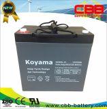 De goede Batterij Dcg55-12 van de Rolstoelen van het Gel van de Cyclus van de Kwaliteit 12V 55ah Diepe