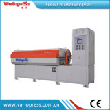 Prensa de membrana laminadora para chapa / papel