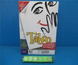 Gioco di scheda educativo i giocattoli del gioco di tabù (256916)