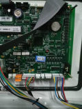 주유소 두 배 LCD는 단 하나 분사구를 디스플레이한다