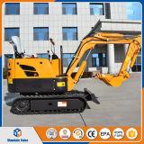 セリウムの証明中国0.8トンの小型掘削機の価格800のKgのクローラー掘削機の価格
