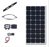 2017 comitato solare flessibile di alta efficienza 100W per la casa del fante di marina di rv