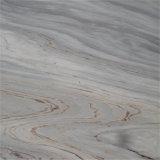 Кристаллический деревянный мрамор вены, белый мрамор галактики