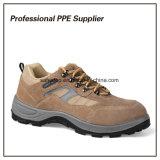 Zapatos de seguridad ligeros del tiempo de trabajo de la inyección de la PU de la alta calidad