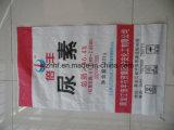 Saco tecido PP para saco dos PP do fertilizante/alta qualidade para o fertilizante de empacotamento