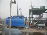 Rohöl-Raffinierungs-Maschinerie, die flacher Farbe Dieselöl erhält