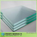CCC/Ceの証明書の工場価格の建物ガラス4mmのゆとりガラスの価格