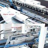 Papierkasten-Faltblatt Gluer Maschine für 4/6 Ecke