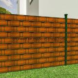 Загородка экрана брезента прокладки PVC для предохранения от Holzdeko сада уединения