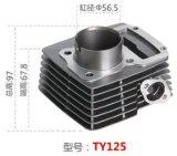 Motorrad-zusätzlicher Zylinder für Ty125