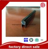 profilo nero di Aondized dell'Alluminio-Espulsione 6063-T5 per la finestra ed il portello