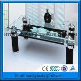 Écran de soie de verre de table imprimées