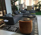 Modernes L Form-Gewebe-Sofa