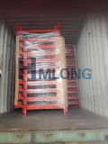 Warehouse Food Storage Aço Plate Stacking Nestainer Rack