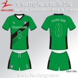 Badminton personalizado Sportswear Jersey da impressão do Sublimation da alta qualidade de Healong