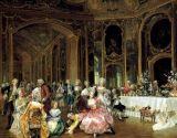 Pintura clásica decorativa pintada a mano de la figura
