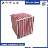 Filtro Pocket médio da fibra de vidro do quarto desinfetado