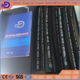 Boyau en caoutchouc hydraulique de surface de tissu d'en 853 1sn 2sn