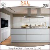 Gabinete de cozinha cozido da pintura do MDF de N&L lustro branco