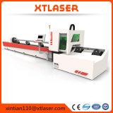 Faser-Laser-Ausschnitt-Gefäß-Maschine für rundes quadratisches Stahlgefäß leitet Faser-Laser-Ausschnitt-Maschine des Gefäß-800W