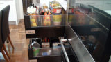 Australien-Art-Lack MDF-Küche-Schrank (BR-L009)